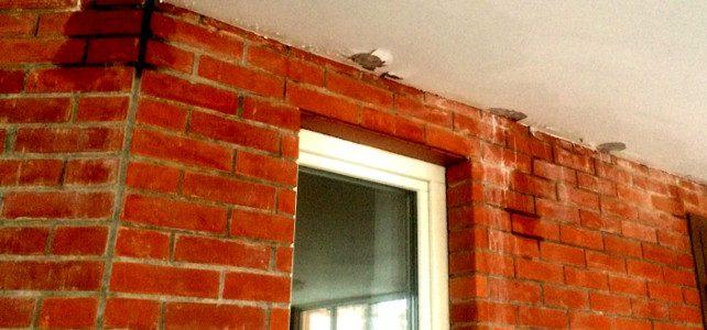 Почему сыреет стена дома из кирпича