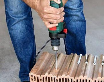 Можно ли использовать дюбель в керамическом блоке