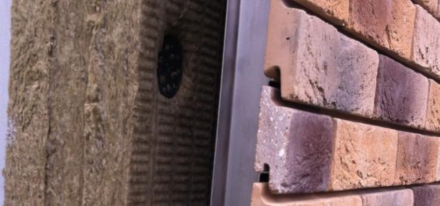 вентилируемый фасад из облицовочного кирпича