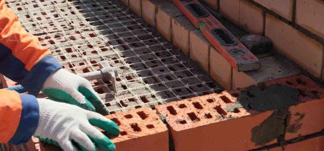 Кладочная сетка через сколько рядов кирпича