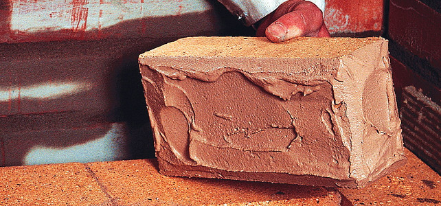 Раствор из глины и песка для кладки