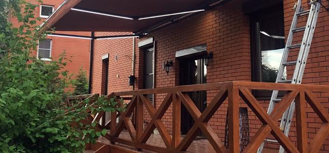 Можно ли к кирпичному дому сделать деревянное крыльцо