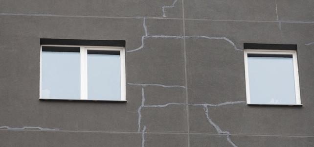 Почему трескается штукатурка на фасаде