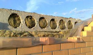 Минимальное опирание плиты перекрытия на армопояс